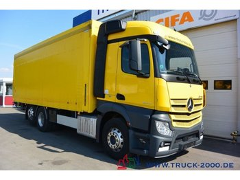 Камион брезент Mercedes-Benz Actros 2543 Stream Space Getränke Plane LBW 2 to