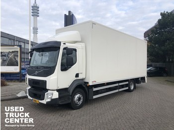 Камион фургон Volvo FL 240 4x2 Rigid, closed box, full length tailgate LOW MILLEAGE