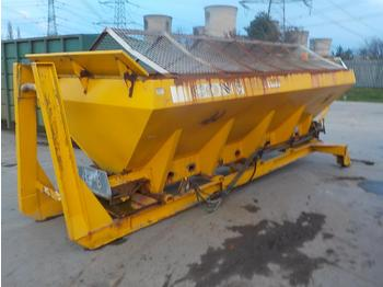 Econ Gritter Spreader Body to suit Hook Loader Lorry - машина за разпръскване на сол/ пясък