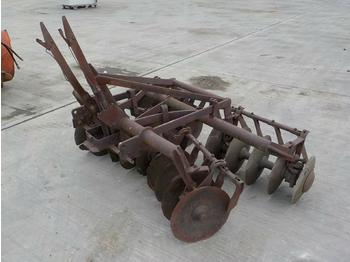 Disc Cultivator to suit 3 Point Linkage - дискова брана