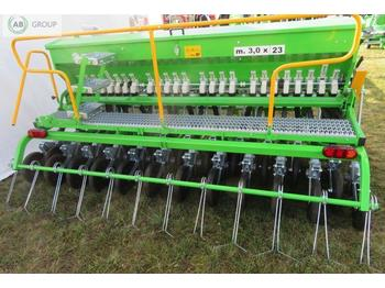 Сеялка Bomet Universalsähmaschine 3 m/Seed drill double disc coulters/ Механическая сеялка 3 м