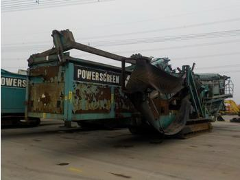 2007 Powerscreen Chieftain 2100X - пресевна инсталация
