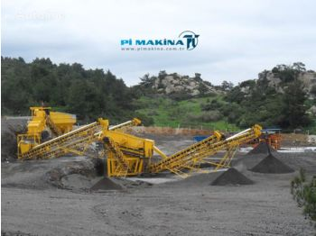 PI MAKINA Crushing and Screening Plant - пресевна инсталация