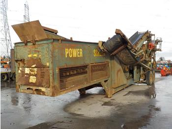 Powerscreen Chieftain 800 - пресевна инсталация