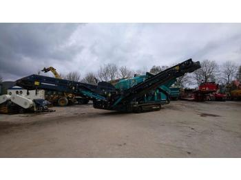 Powerscreen Warrior 1400X  - пресевна инсталация